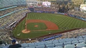 Seating Chart Dodger Stadium Rows Dodger Stadium Top Deck 10 Rateyourseats Com