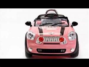 Voiture Electrique Enfant : voiture enfant electrique mini cooper 12 volts youtube ~ Nature-et-papiers.com Idées de Décoration