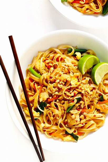 Thai Pad Recipe Gimmesomeoven Noodles Sauce Chicken