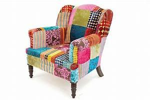 Fauteuil patchwork deco pinterest patchwork for Petit fauteuil multicolore