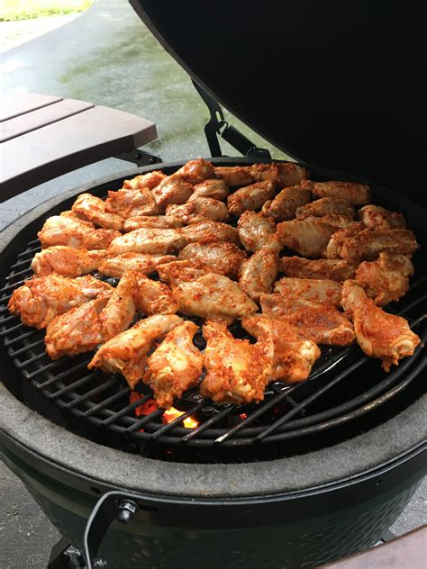With korean sauce and bonus chicken stock. Costco Wings — Big Green Egg - EGGhead Forum - The ...