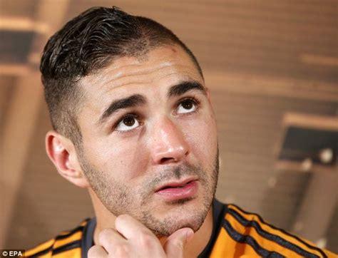 karim benzema haircut joins sports hall  shame daily