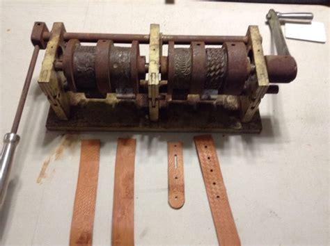 leather embossing machine  embossing wheels