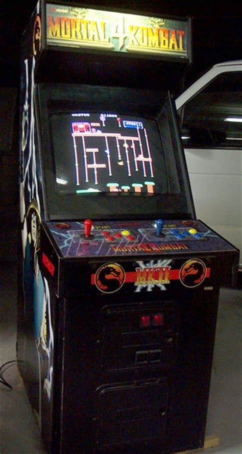 Mortal Kombat Arcade Cabinet by 10th One Mortal Kombat 2 Cabinet