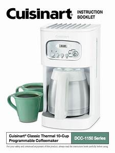 10 Cup Programmable Thermal Coffeemaker  Dcc