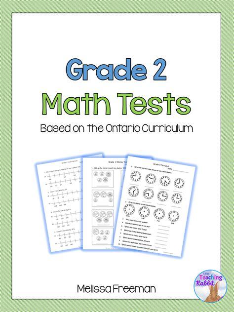 grade 2 math worksheets ontario grade 2 math tests bundle based on ontario curriculum