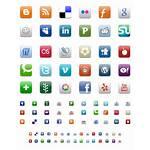 Icons Stencils Social Graffletopia Aquaticus