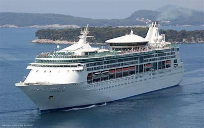 Seas Ship Cruise Grandeur Ships Wallpapers Enchantment
