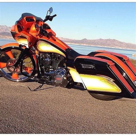 interesting color scheme harley davidson motorcycles