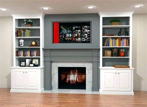Decorating Ideas Next To Fireplace by Built Ins Around Fireplace Decor Fireplace Design Ideas