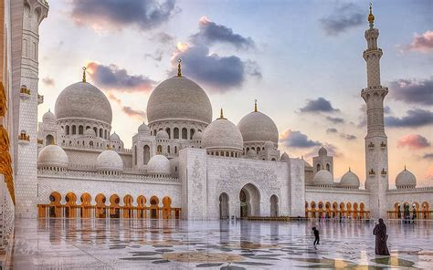 Mosque Wallpaper by United Arab Emirates Sheikh Zayed Mosque In Abu Dhabi