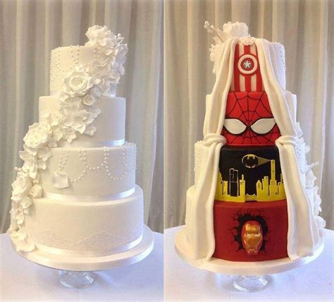 compromise  wanted  traditional wedding cake
