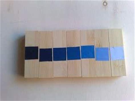 tavole dei colori 10 giochi e mobili fai da te secondo il metodo montessori