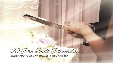 after effects project files daydream wedding videohive 7516645 youtube