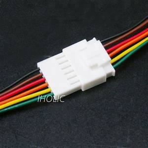 1pcs Small 6pin Terminal Lead Wire Harness