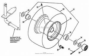 Snapper Nlt145h38dbv 38 U0026quot  14 5 Hp Hydro Drive Tractor Series D Parts Diagram For Front Axle