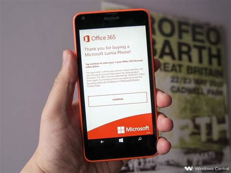 how to claim your free office 365 subscription with the lumia 640 and 640 xl windows central