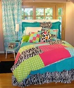 Lime Green Blue Purple Stripe Teen Girl Bedding Twin Full