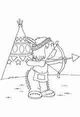Coloring Teepee Popular Colouring sketch template