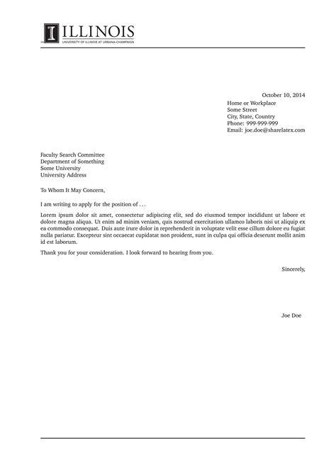 latex cover letter allbusinesstemplatescom