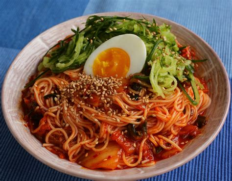 cooking cuisine food photo bibimguksu maangchi com