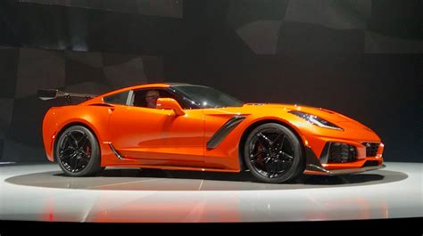 2019 Chevrolet Corvette Zr1 Is Fastest-ever