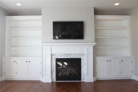ana white   build  fireplace mantel  surround