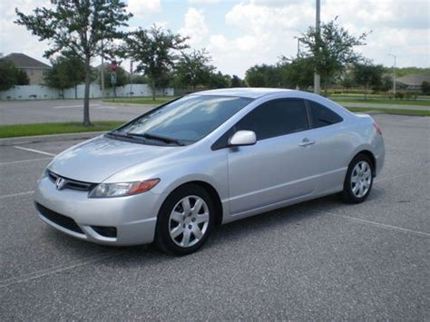 Find Used 2008 Honda Civic Lx Coupe 2-door 1.8l Vtec.