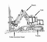 Equipment Cutting Drawing Buncher Forest Tree Construction Trees Drawings Feller Getdrawings Catalog sketch template