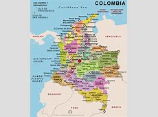 Colombia Country Profile Free Maps of Colombia Open