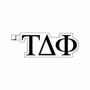 greek letters tau delta phi plastic greek letter shaped With plastic greek letters