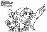 Glitter Coloring Force Pages Precure Printable Adults Print Friends Bettercoloring sketch template