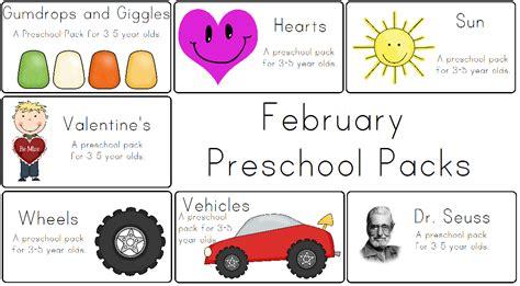 adventures preschool preschoola 978   February Preschool Packs