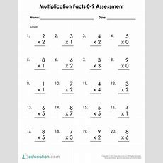 3rd Grade Multiplication Worksheets & Free Printables Educationcom