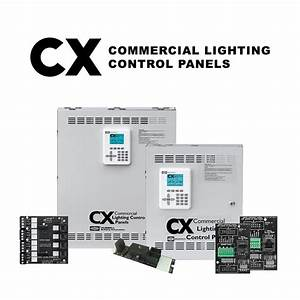 Cx Commercial Lighting Control Panels System