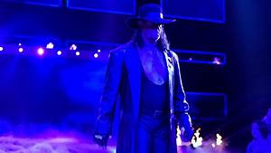Spectacular slow-motion footage of The Undertaker's Raw ...