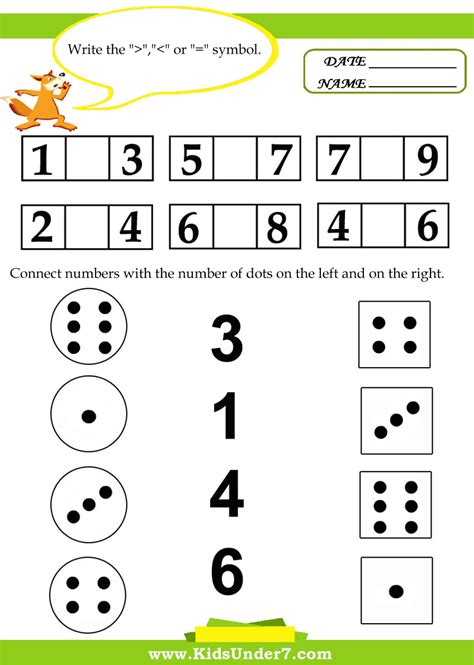 math worksheets kindergarten printable for addition and