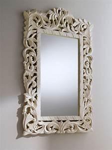 Miroir Blanc Baroque : d coration baroque conseils d co pour harmoniser son int rieur chic ~ Teatrodelosmanantiales.com Idées de Décoration