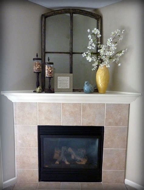 Corner Fireplace Mantels - best 25 corner mantle decor ideas on corner