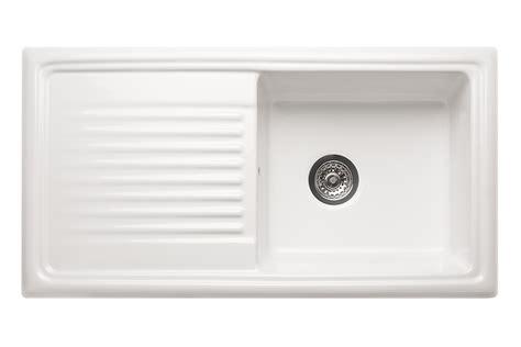 ceramic kitchen sink with drainer reginox ceramic sink with drainer single bowl 8090
