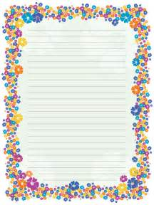 Flower Stationery Paper Designs