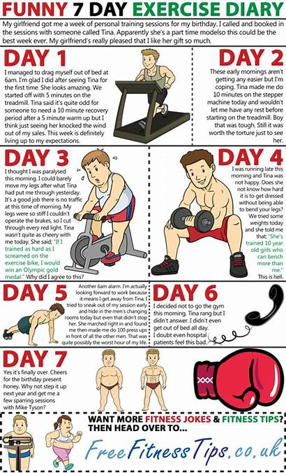 Jokes Fitness Exercise Gym Funny Motivation Diary