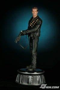 Arnold Christmas Lights Venom Galactica Terminator Statues Revealed Ign