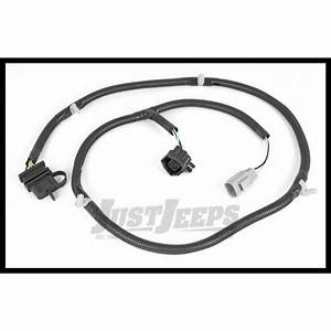 Just Jeeps Buy Rugged Ridge Rear Hitch Trailer Wiring Harness Kit For 2007  Jeep Wrangler Jk 2