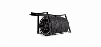 Garage Rack Tire Wall Duty Storage Heavy
