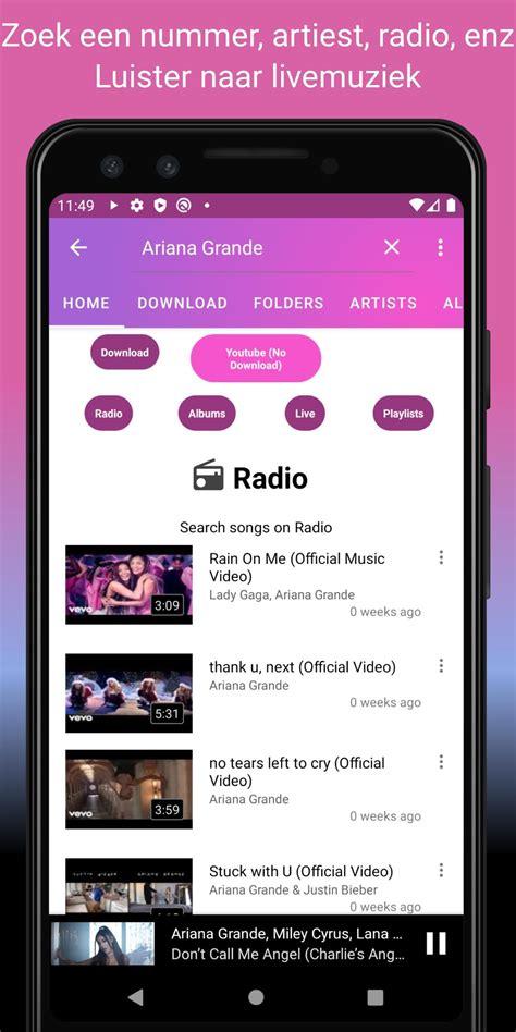 Helps you listen to music offline, whenever you like. Gratis muziek downloader MP3; YouTube-muziekspeler for Android - APK Download