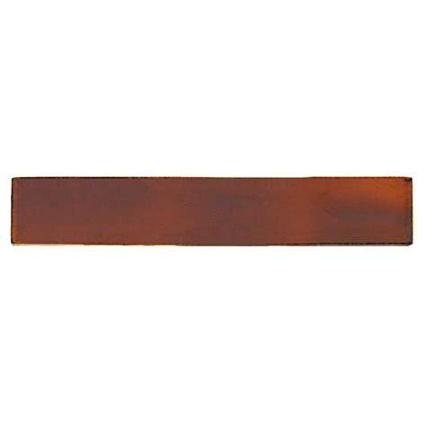 solistone painted russet 1 in x 6 in ceramic