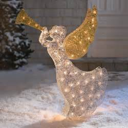4 39 pre lit outdoor decoration 4ft lighted glitter yard decor