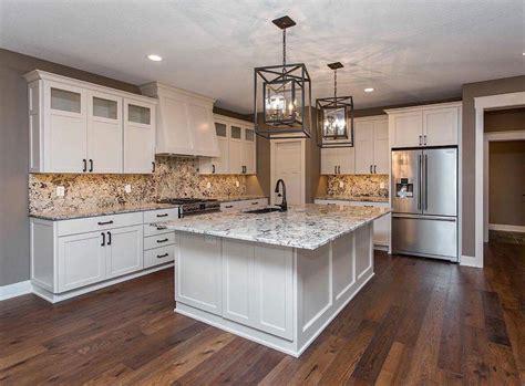 alder wood cabinet doors alaskan white granite countertops iowa remodels