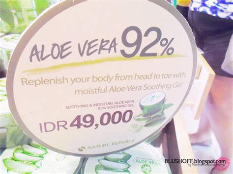 Harga Nature Republic Store Jakarta opening store nature republic at lippo karawaci vlog